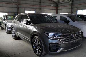 Hải quan quyết định tịch thu xe Volkswagen có hình ảnh 'đưỡng lưỡi bò'
