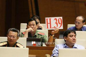 Quốc hội dành 3 ngày cho phiên chất vấn các bộ trưởng