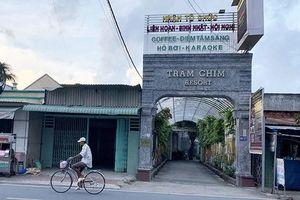Yêu cầu cưỡng chế công trình vi phạm trật tự xây dựng tại Gia Trang quán - Tràm Chim Resort