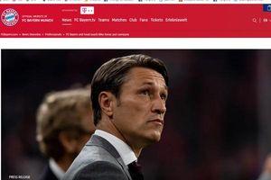 Bayern và Kovac kết thúc 'mối lương duyên' sau trận thua Frankfurt