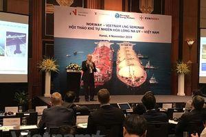 Việt Nam-Na Uy chia sẻ kinh nghiệm phát triển khí tự nhiên hóa lỏng