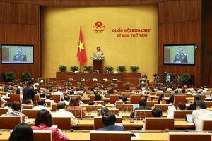 Kỳ họp thứ 8, Quốc hội khóa XIV: Thông cáo báo chí số 11