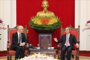 Tập đoàn Facebook sẵn sàng hỗ trợ Việt Nam liên quan đến phát triển hệ sinh thái số