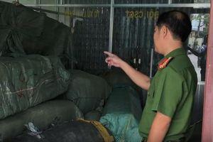 Bắt giữ 8 tấn hàng nghi nhập lậu từ Trung Quốc vào Đà Nẵng theo đường tàu hỏa