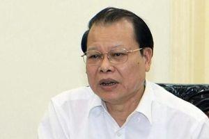 Thủ tướng ký quyết định kỷ luật cảnh cáo nguyên Phó Thủ tướng Vũ Văn Ninh