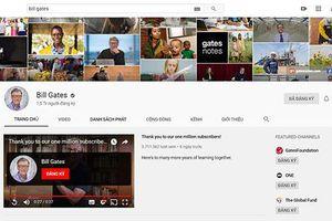 Người nổi tiếng thế giới vừa nhận nút Vàng YouTube