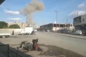 Bom nổ kinh hoàng ở Syria sát biên giới Thổ Nhĩ Kỳ khiến 13 người chết