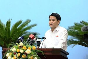 Ông Nguyễn Đức Chung 'xin rút kinh nghiệm' vụ nước sông Đà nhiễm bẩn