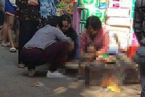 Một thi thể bé sơ sinh bị bỏ lại trong thùng rác