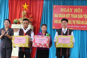 Bình Định: Ngày hội Đại đoàn kết toàn dân tộc khu dân cư thôn Gò Bùi