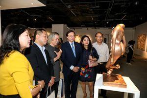 Chiêm ngưỡng những tác phẩm đặc sắc của các họa sĩ hàng đầu châu Á