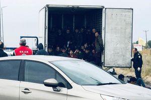 Phát hiện 41 người bị nhồi nhét trong container đông lạnh ở Hy Lạp