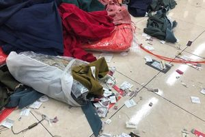 Hà Nội: Thu giữ hàng nghìn sản phẩm quần áo giả nhãn mác