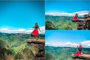 Đang mùa đẹp nhất trong năm, hãy vi vu Hà Giang để check-in 'mỏm đá tử thần' đầy vi diệu