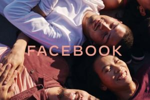 Facebook có logo mới màu mè hơn