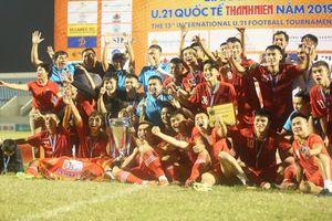 Hạ Sinh viên Nhật Bản, chủ nhà Việt Nam tiếp tục nâng cao cúp vô địch U.21 Quốc tế 2019