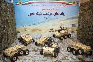 Iran giới thiệu xe tự hành mini vũ trang