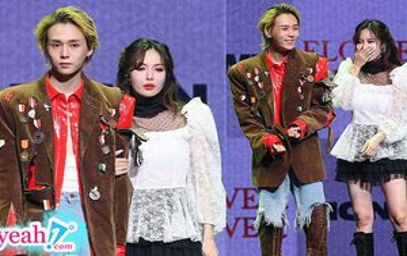 Hyuna và bạn trai Dawn cùng tổ chức họp báo comeback và debut, Kpop chưa từng xuất hiện điều tương tự
