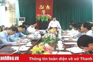 Công bố dự thảo kết quả rà soát thanh tra, thực hiện kiến nghị của kiểm toán Nhà nước tại 4 huyện