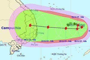Bão Nakri có thể vào Nam Trung Bộ