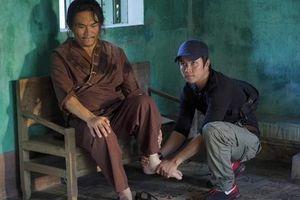Đại Nghĩa, Quang Trung lăn xả trên trường quay 'Pháp sư mù'