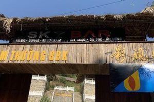 Công trình 'bí mật' trên núi ở Lạng Sơn: Không biết nhóm người Trung Quốc có quay phim hay không?