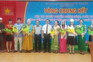 Chung kết Hội thi 'Tuyên truyền chính sách, pháp luật bằng tiếng dân tộc' năm 2019