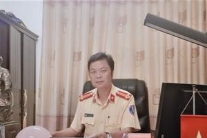 Phòng CSGT tỉnh Phú Thọ tăng cường đảm bảo an toàn giao thông dịp cận tết nguyên đán Canh Tý 2020