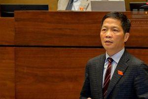 Bộ trưởng Trần Tuấn Anh 'đăng đàn' trả lời chất vấn trước Quốc hội