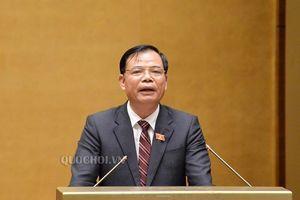 Sáng 6-11, Quốc hội bắt đầu phiên chất với Bộ trưởng Nông nghiệp và Phát triển nông thôn