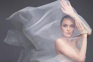 Angelina Jolie chụp ảnh khỏa thân táo bạo trên tạp chí