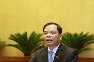 Bộ trưởng NN&PTNT Nguyễn Xuân Cường đưa quan điểm giải quyết vấn đề được mùa mất giá