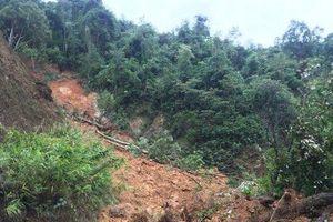 Sau bão số 5, hàng nghìn khối đất đá sạt lở trên Quốc lộ 9C