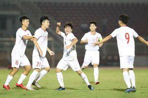 U19 Việt Nam thắng đậm ở trận ra quân