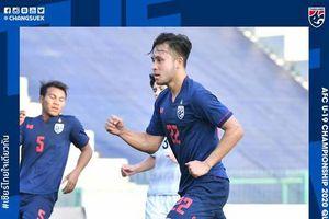 U19 Thái Lan hủy diệt đối thủ yếu nhất bảng G với tỷ số 21-0