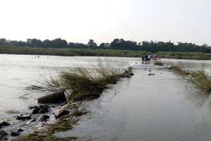Lội sông đi chợ, người phụ nữ bị nước cuốn tử vong thương tâm