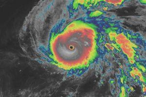 Siêu bão Hạ Long trở thành 'quái vật khí tượng', đập tan mọi kỷ lục về bão từng thấy qua vệ tinh
