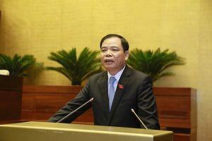Đại biểu Quốc hội khẳng định Bộ trưởng Bộ Nông nghiệp & Phát triển nông thôn 'rất thẳng thắn, rõ vấn đề'