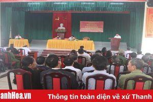 Đại biểu HĐND tỉnh tiếp xúc cử tri huyện Đông Sơn
