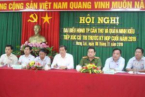 Đẩy nhanh tiến độ thực hiện dự án cầu, đường Trần Hoàng Na