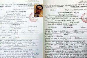 Truy nã 2 can phạm trốn khỏi nhà tạm giữ ở Bình Phước