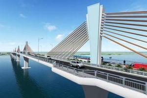 Đề xuất vay 34,5 tỷ yên ODA Nhật Bản xây cầu Đại Ngãi trên Quốc lộ 60