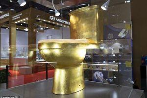 Toilet vàng 1,3 triệu USD đính 41.000 viên kim cương gây xôn xao Trung Quốc
