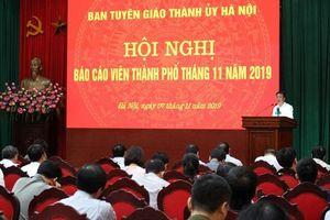 Hà Nội: Tăng cường tuyên truyền để sắp xếp, bố trí lại cán bộ kiêm nhiệm, không gây xáo trộn
