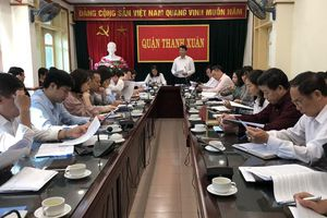 Quận Thanh Xuân sẽ giảm gần 1.300 người hoạt động không chuyên trách