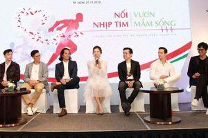 Đông đảo nghệ sĩ hào hứng 'Chạy vì trái tim'