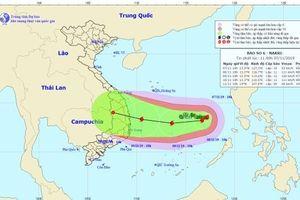 Theo dõi chặt chẽ diễn biến của bão số 6