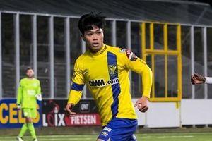 Công Phượng lỡ cơ hội ghi bàn khi đối mặt thủ môn Kawin tại Bỉ