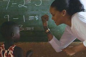 Rihanna- Ngôi sao đầy nhân ái