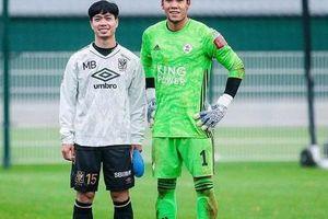 Xem Công Phượng đối đầu thủ môn Thái Lan tại Bỉ